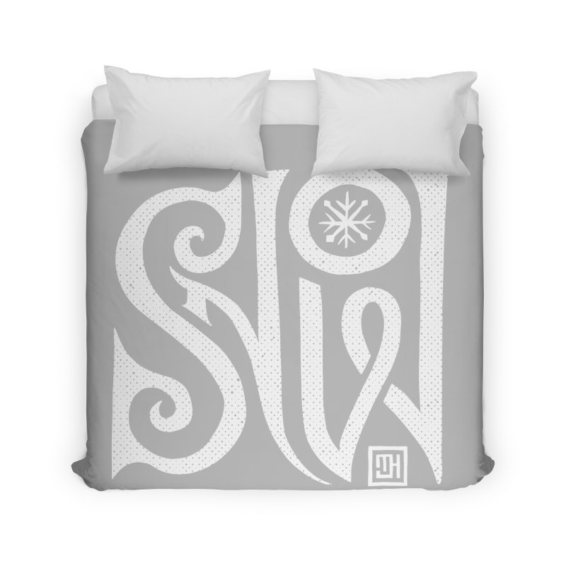 Snow Home Duvet by Michael J Hildebrand's Artist Shop