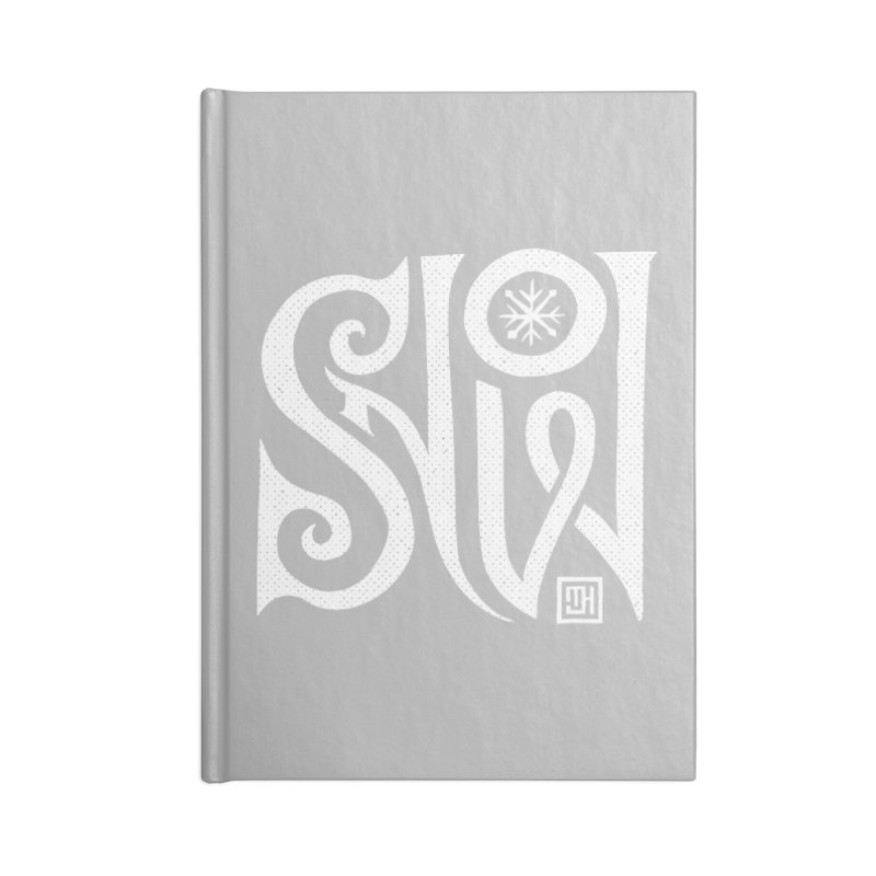 Snow Accessories Notebook by michaeljhildebrand's Artist Shop