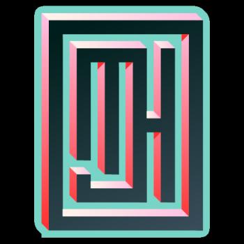 Michael J Hildebrand's Artist Shop Logo