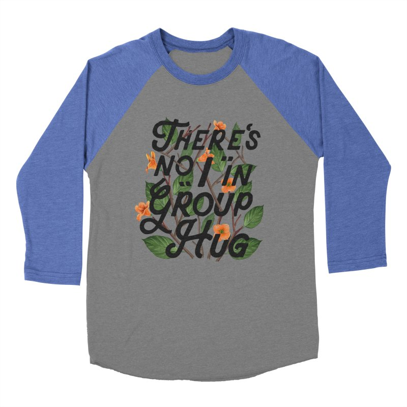 Group Hug Women's Baseball Triblend Longsleeve T-Shirt by Michael Mohlman