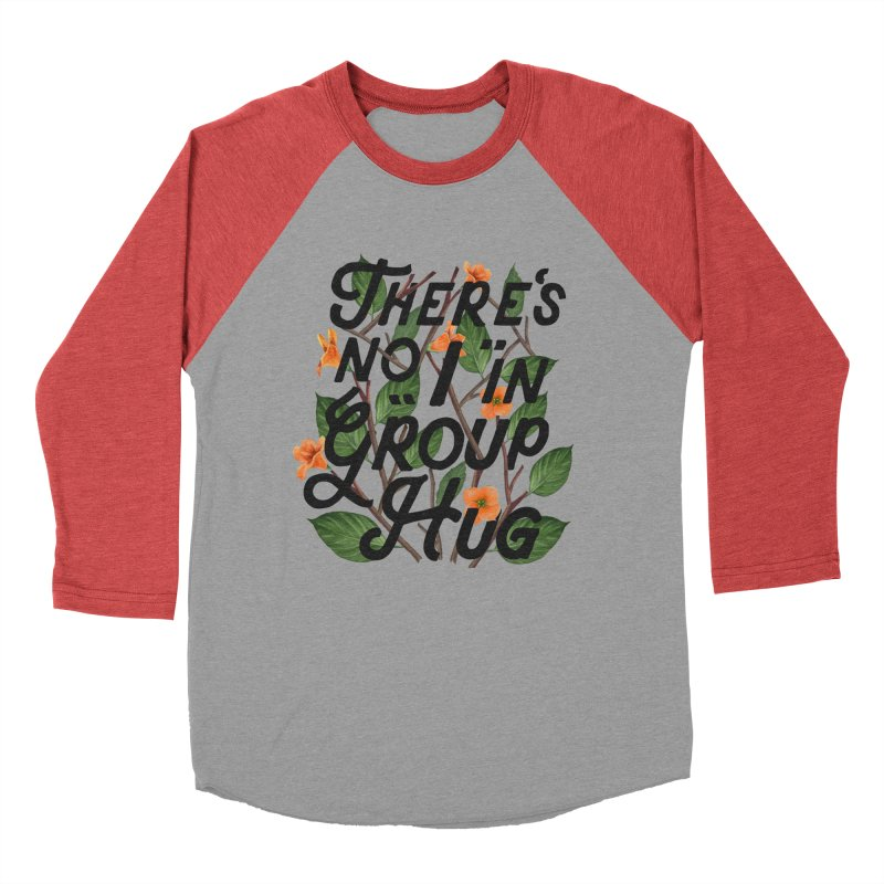Group Hug Women's Baseball Triblend Longsleeve T-Shirt by Michael Mohlman