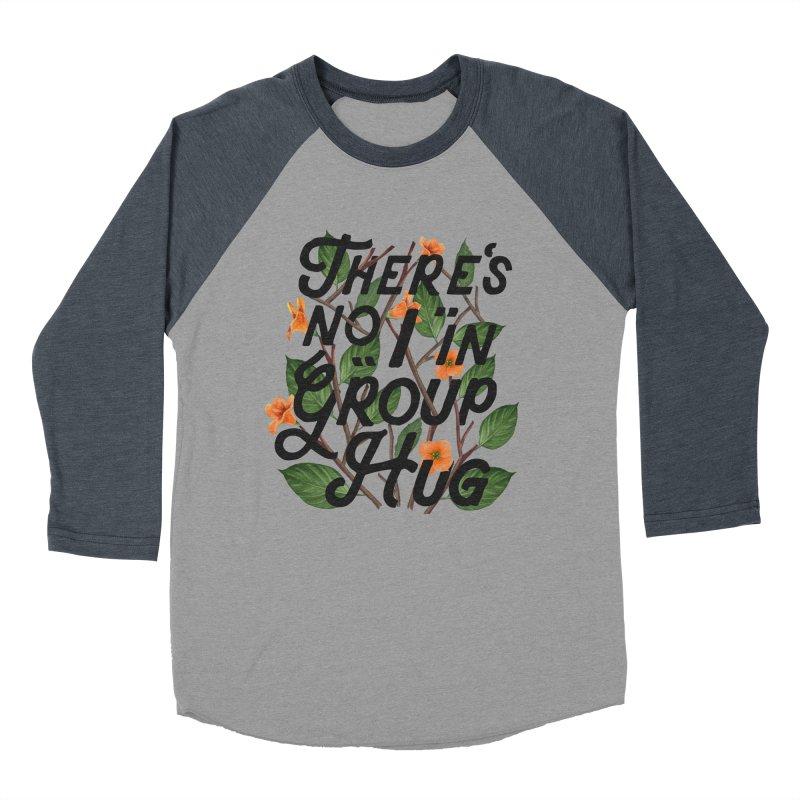 Group Hug Women's Baseball Triblend T-Shirt by Michael Mohlman