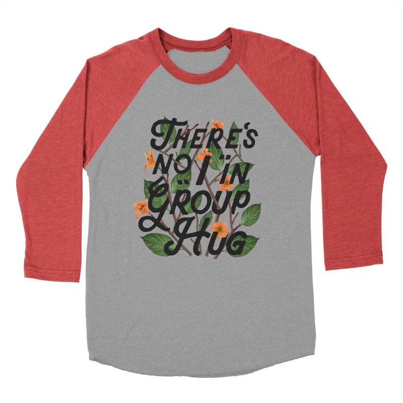Group Hug Men's Baseball Triblend T-Shirt by Michael Mohlman