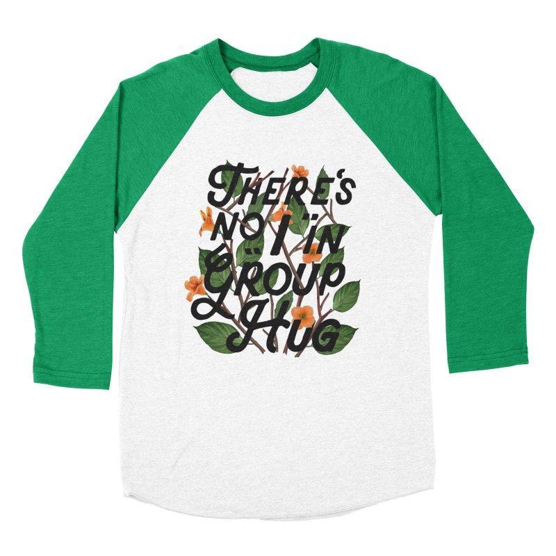 Group Hug Men's Baseball Triblend Longsleeve T-Shirt by Michael Mohlman