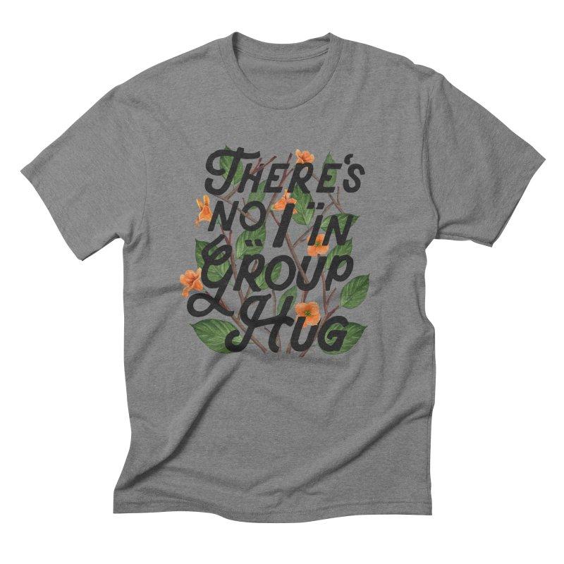 Group Hug Men's Triblend T-shirt by Michael Mohlman