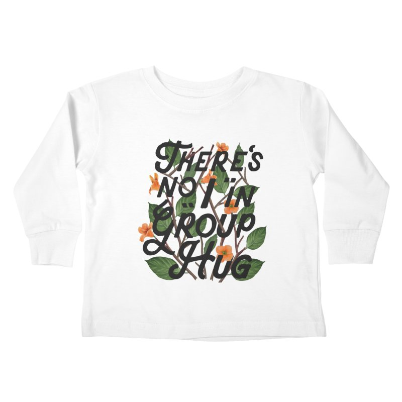 Group Hug Kids Toddler Longsleeve T-Shirt by Michael Mohlman