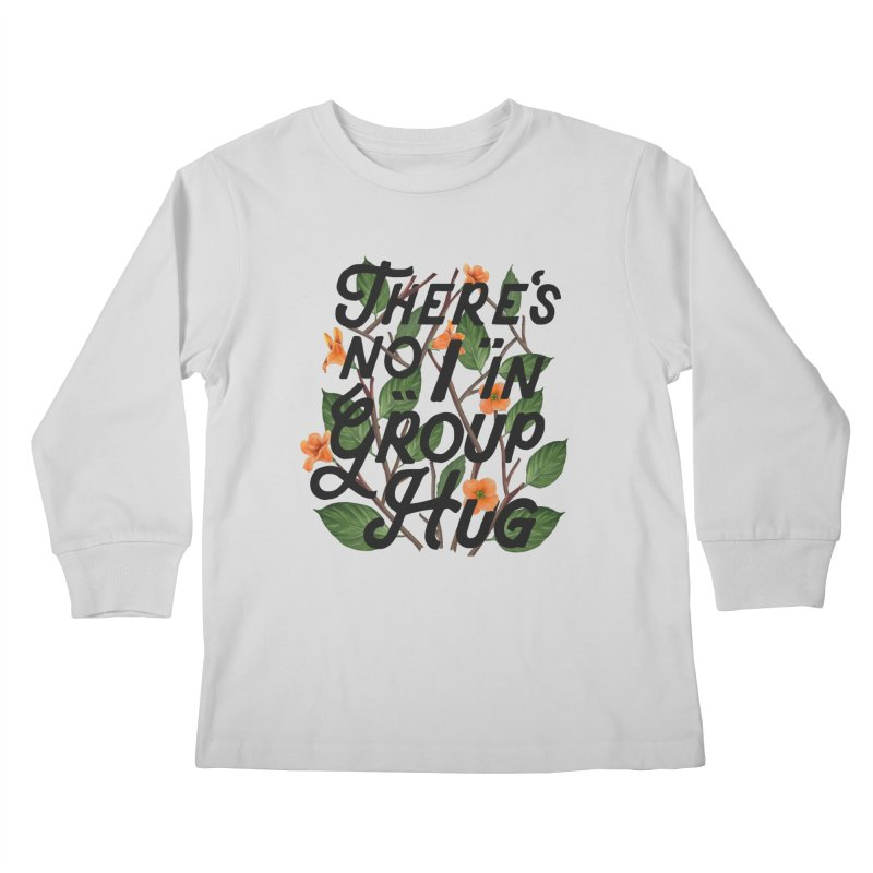 Group Hug Kids Longsleeve T-Shirt by Michael Mohlman