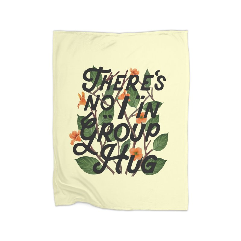 Group Hug Home Blanket by Michael Mohlman