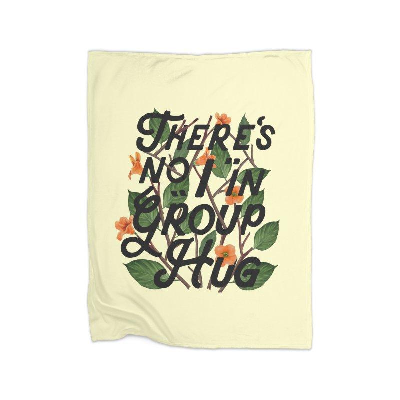Group Hug Home Fleece Blanket Blanket by Michael Mohlman