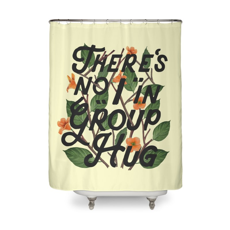 Group Hug Home Shower Curtain by Michael Mohlman