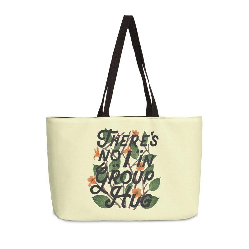 Group Hug Accessories Weekender Bag Bag by Michael Mohlman