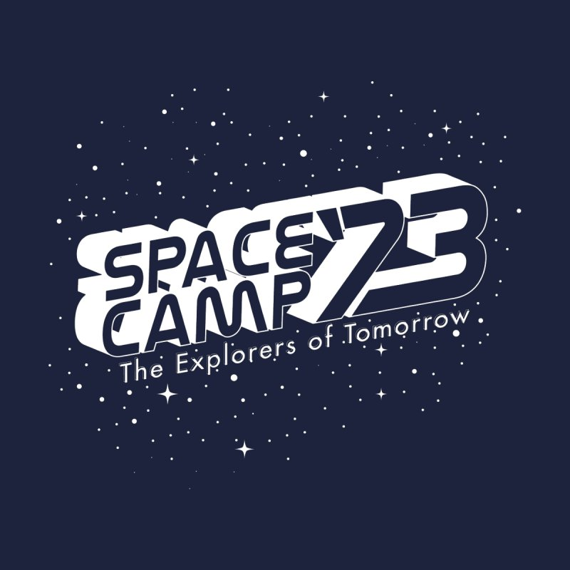 Space Camp '73 Men's Zip-Up Hoody by Michael Mohlman