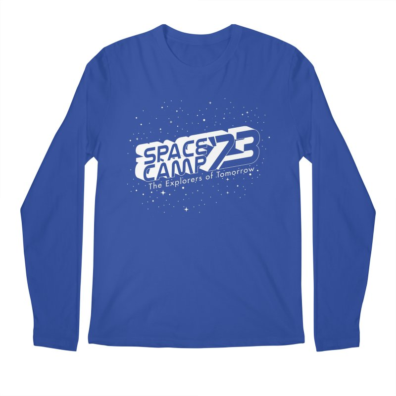 Space Camp '73 Men's Longsleeve T-Shirt by Michael Mohlman