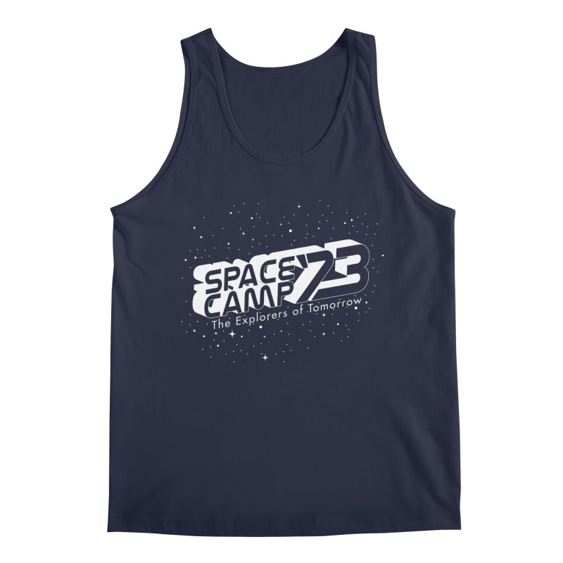 Space Camp '73 Men's Regular Tank by Michael Mohlman