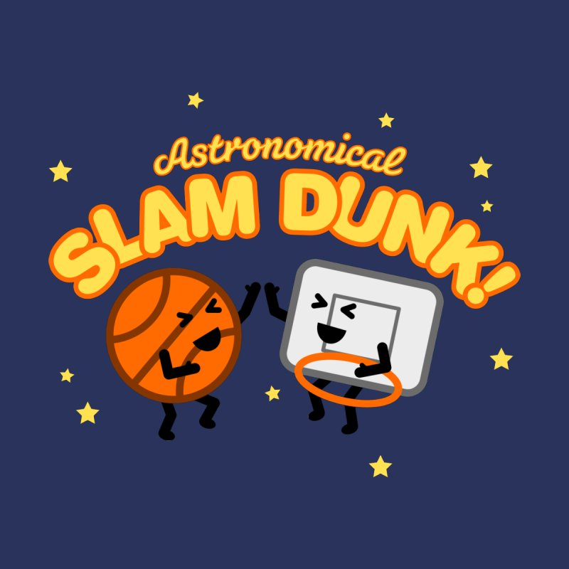 Astronomical Slam Dunk Kids Toddler Longsleeve T-Shirt by Michael Mohlman