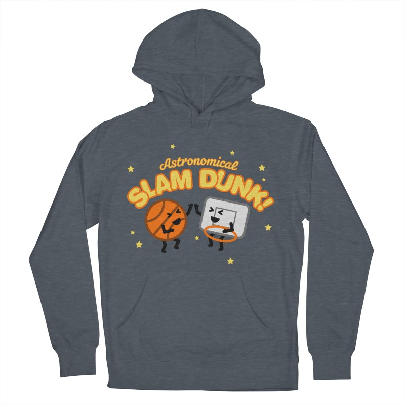 Astronomical Slam Dunk Men's Pullover Hoody by Michael Mohlman