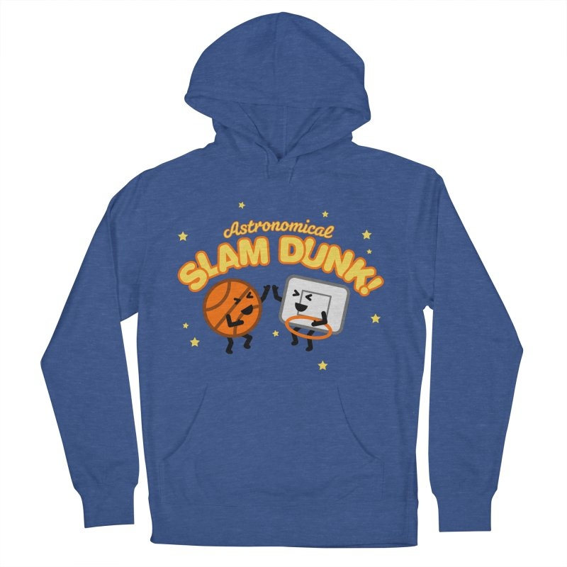 Astronomical Slam Dunk Men's French Terry Pullover Hoody by Michael Mohlman