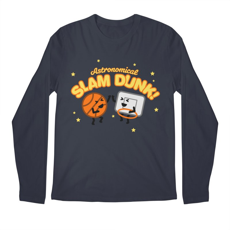 Astronomical Slam Dunk Men's Longsleeve T-Shirt by Michael Mohlman