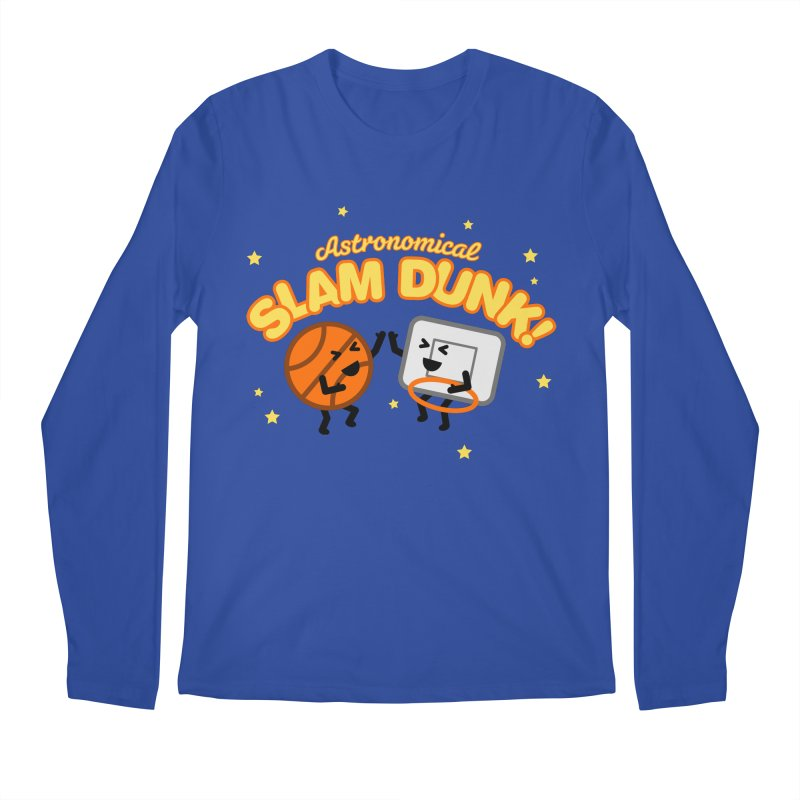 Astronomical Slam Dunk Men's Regular Longsleeve T-Shirt by Michael Mohlman