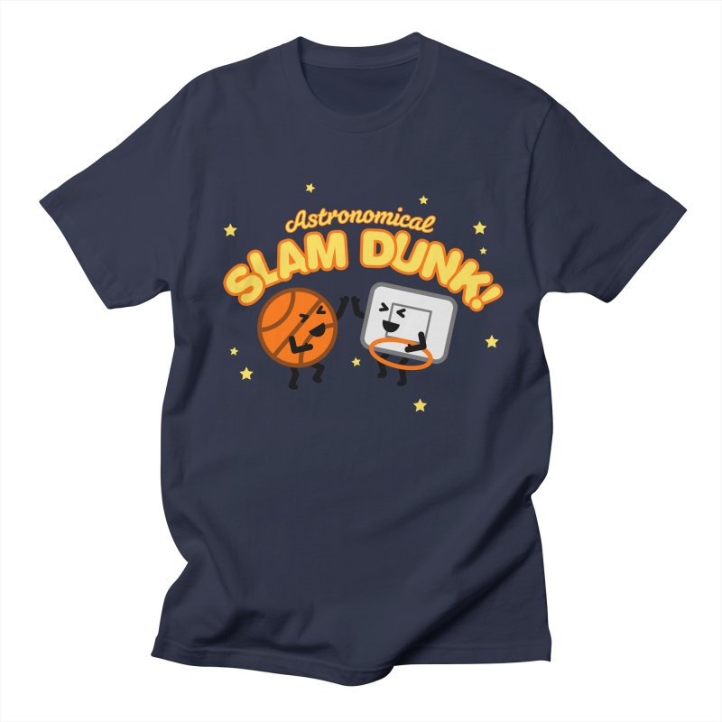 Astronomical Slam Dunk Men's Regular T-Shirt by Michael Mohlman