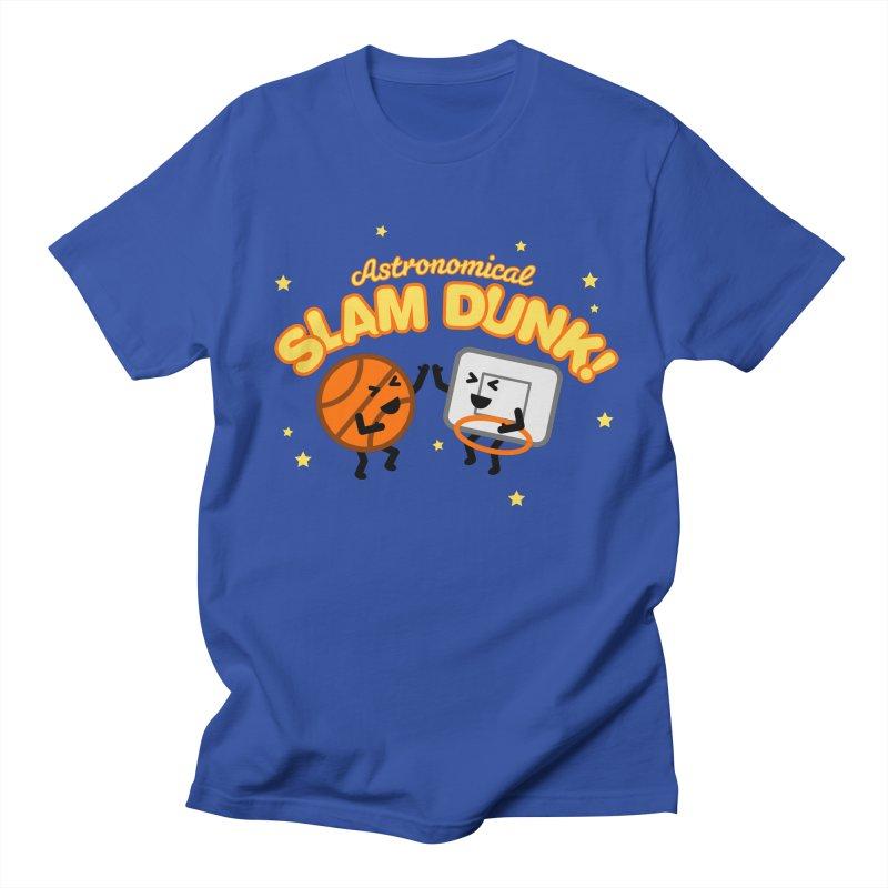Astronomical Slam Dunk Men's T-Shirt by Michael Mohlman