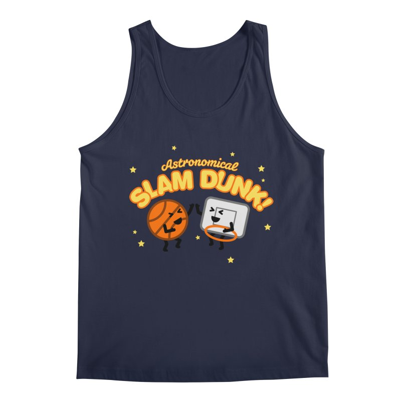 Astronomical Slam Dunk Men's Regular Tank by Michael Mohlman