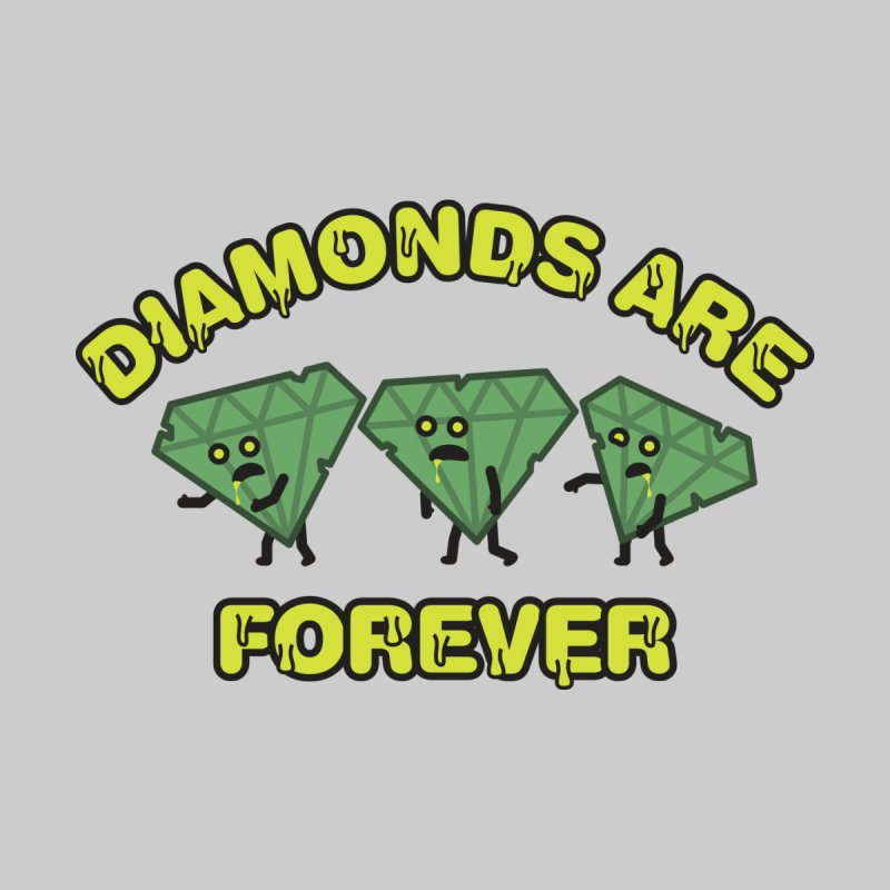 Diamonds Are Forever Kids Toddler T-Shirt by Michael Mohlman