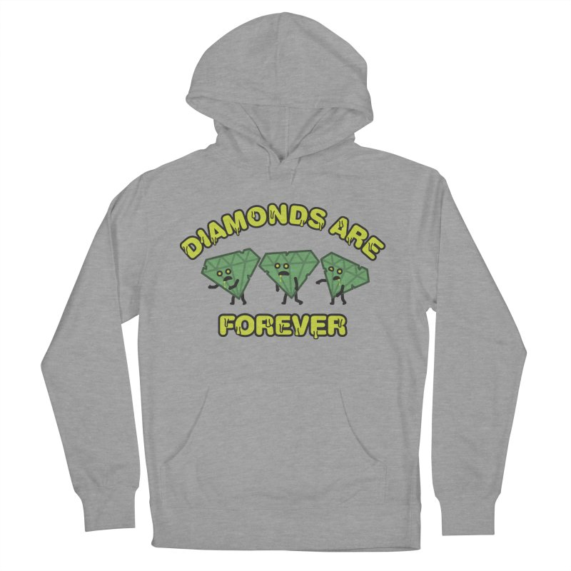 Diamonds Are Forever Women's Pullover Hoody by Michael Mohlman