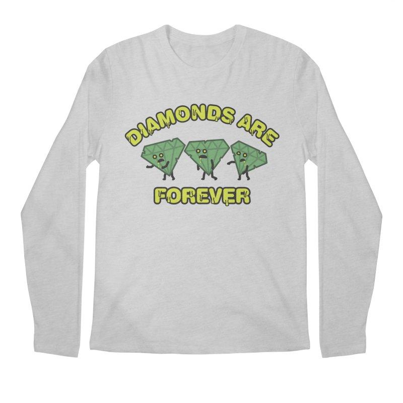 Diamonds Are Forever Men's Longsleeve T-Shirt by Michael Mohlman