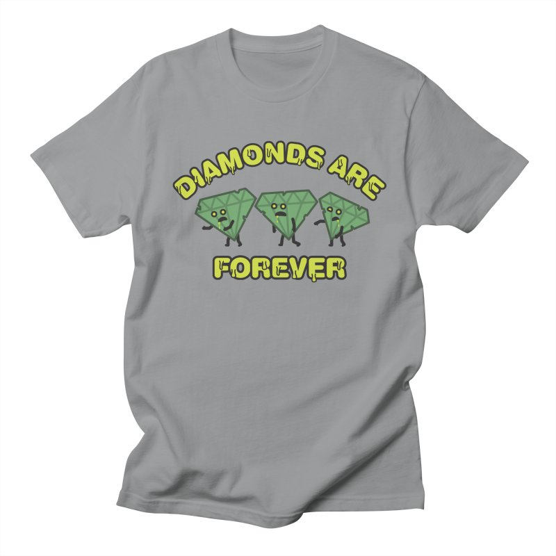 Diamonds Are Forever Men's Regular T-Shirt by Michael Mohlman