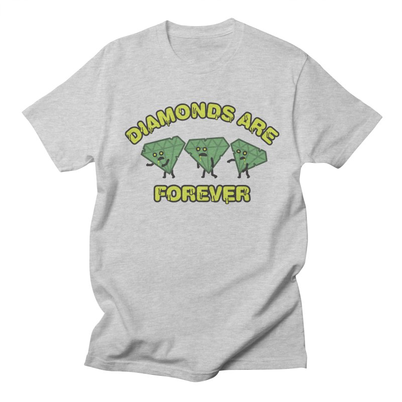 Diamonds Are Forever Men's Regular T-Shirt by Michael Mohlman