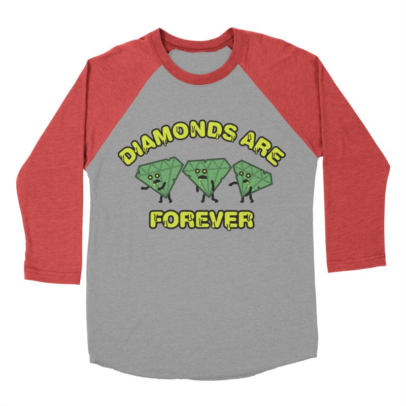 Diamonds Are Forever Men's Baseball Triblend T-Shirt by Michael Mohlman