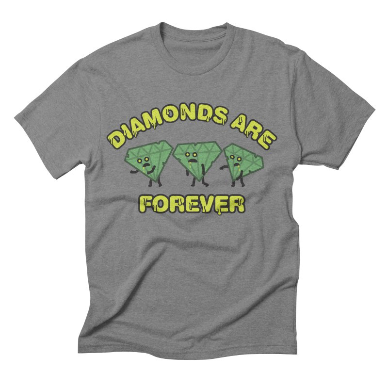 Diamonds Are Forever Men's Triblend T-shirt by Michael Mohlman