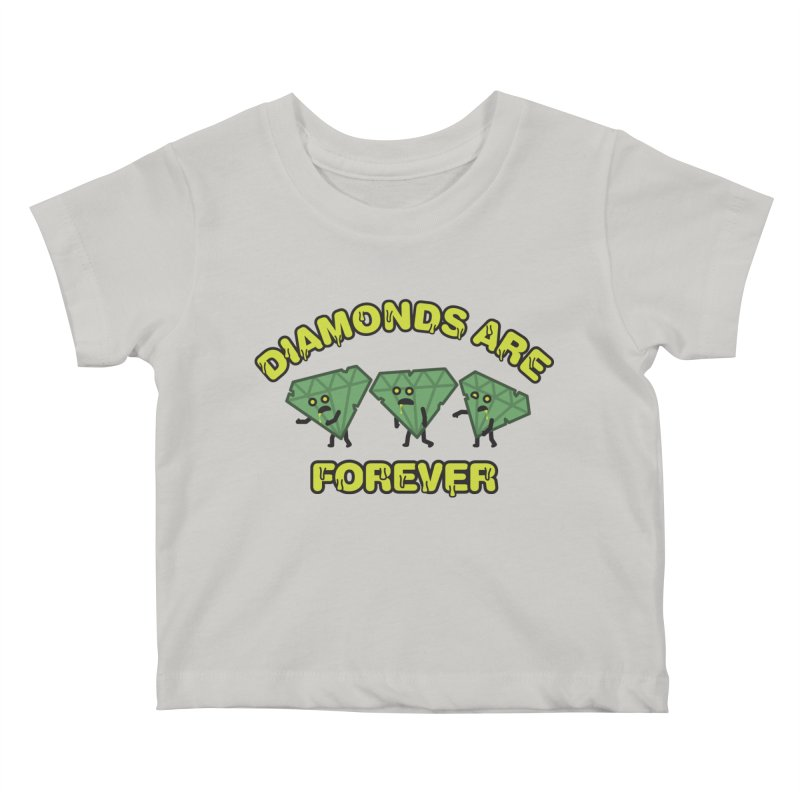 Diamonds Are Forever Kids Baby T-Shirt by Michael Mohlman