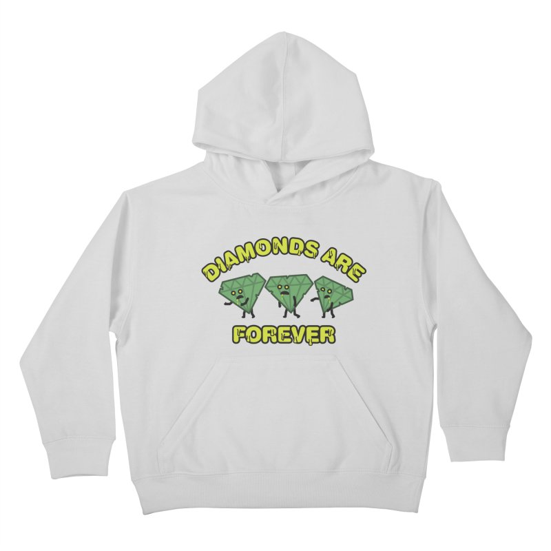 Diamonds Are Forever Kids Pullover Hoody by Michael Mohlman