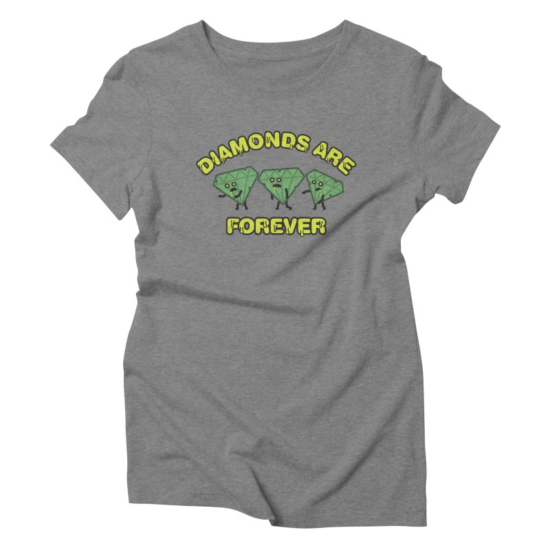 Diamonds Are Forever Women's Triblend T-Shirt by Michael Mohlman