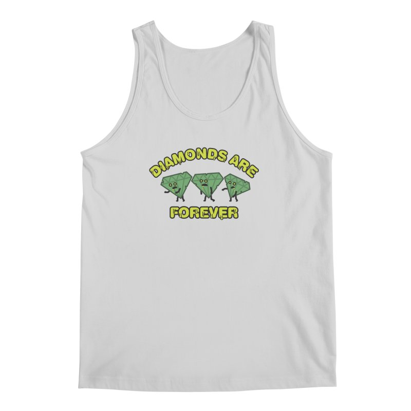 Diamonds Are Forever Men's Tank by Michael Mohlman