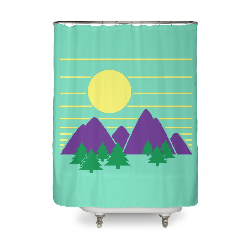 Sunset One Home Shower Curtain by Michael Mohlman