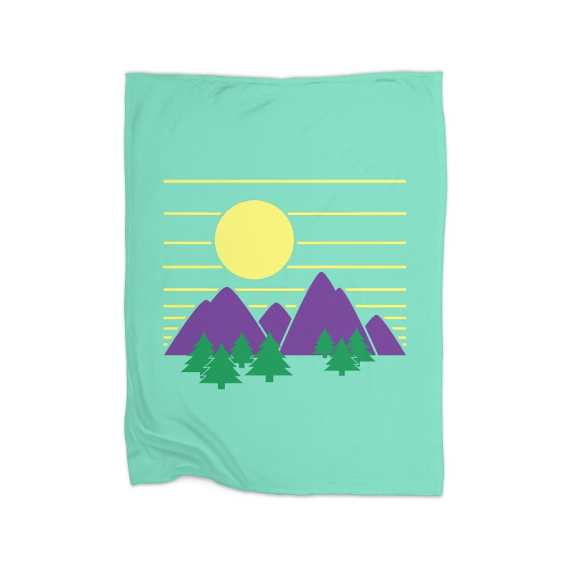 Sunset One Home Blanket by Michael Mohlman