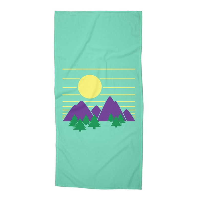 Sunset One Accessories Beach Towel by Michael Mohlman