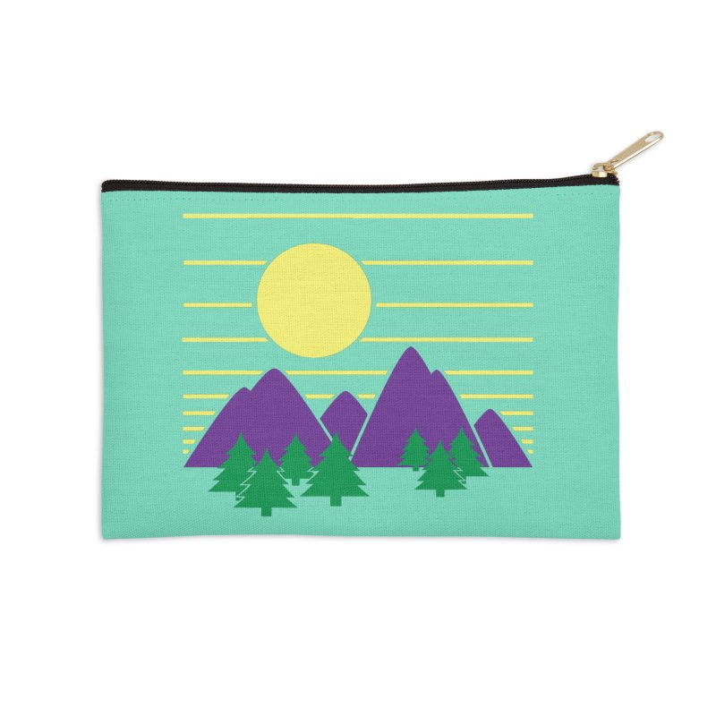 Sunset One Accessories Zip Pouch by Michael Mohlman