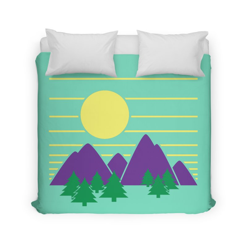Sunset One Home Duvet by Michael Mohlman