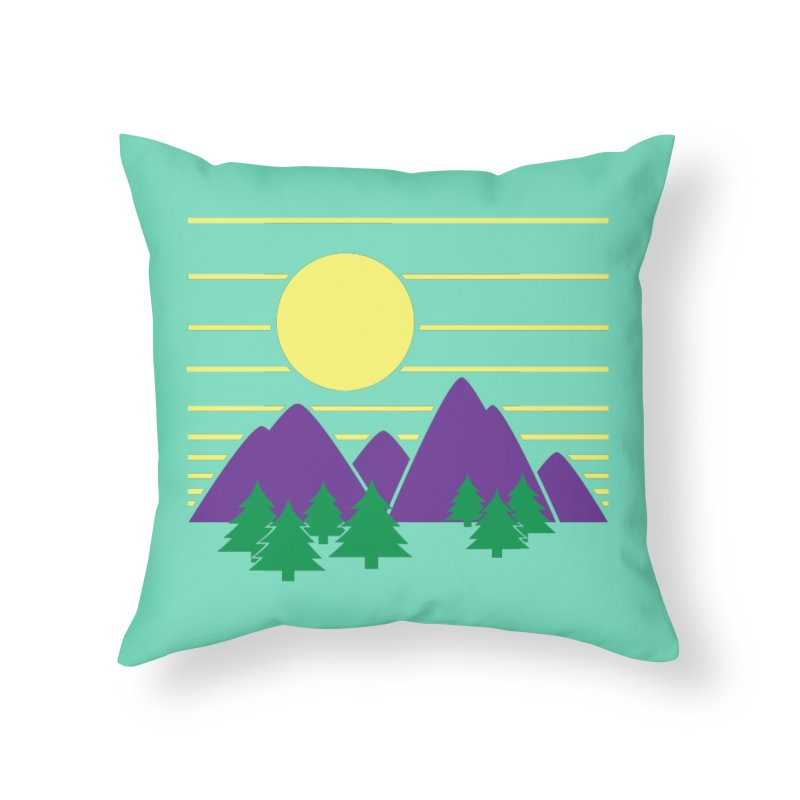 Sunset One Home Throw Pillow by Michael Mohlman
