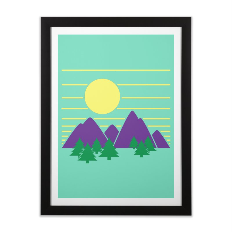 Sunset One Home Framed Fine Art Print by Michael Mohlman