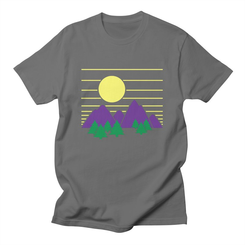 Sunset One Men's T-Shirt by Michael Mohlman