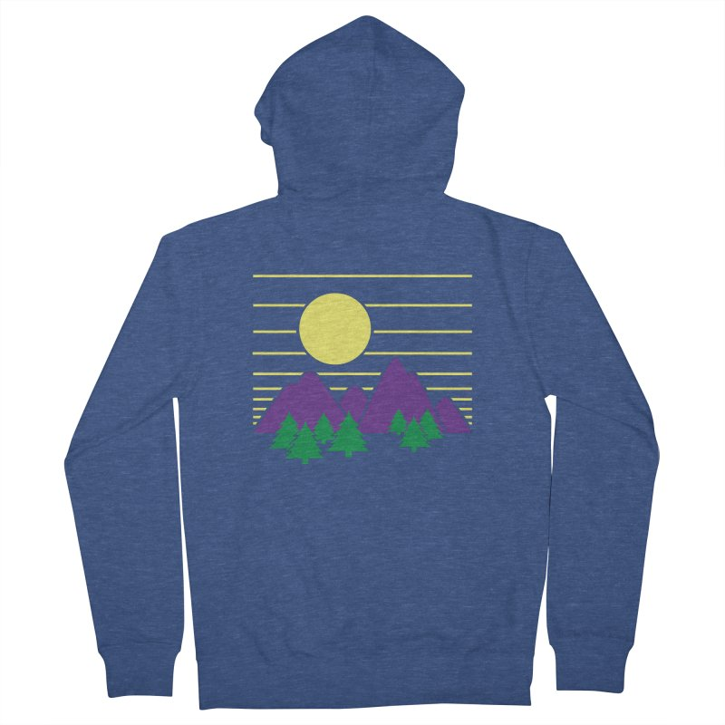 Sunset One Women's French Terry Zip-Up Hoody by Michael Mohlman