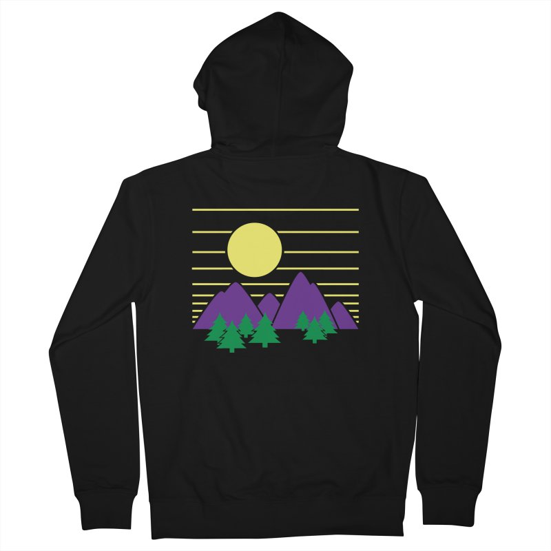 Sunset One Women's Zip-Up Hoody by Michael Mohlman