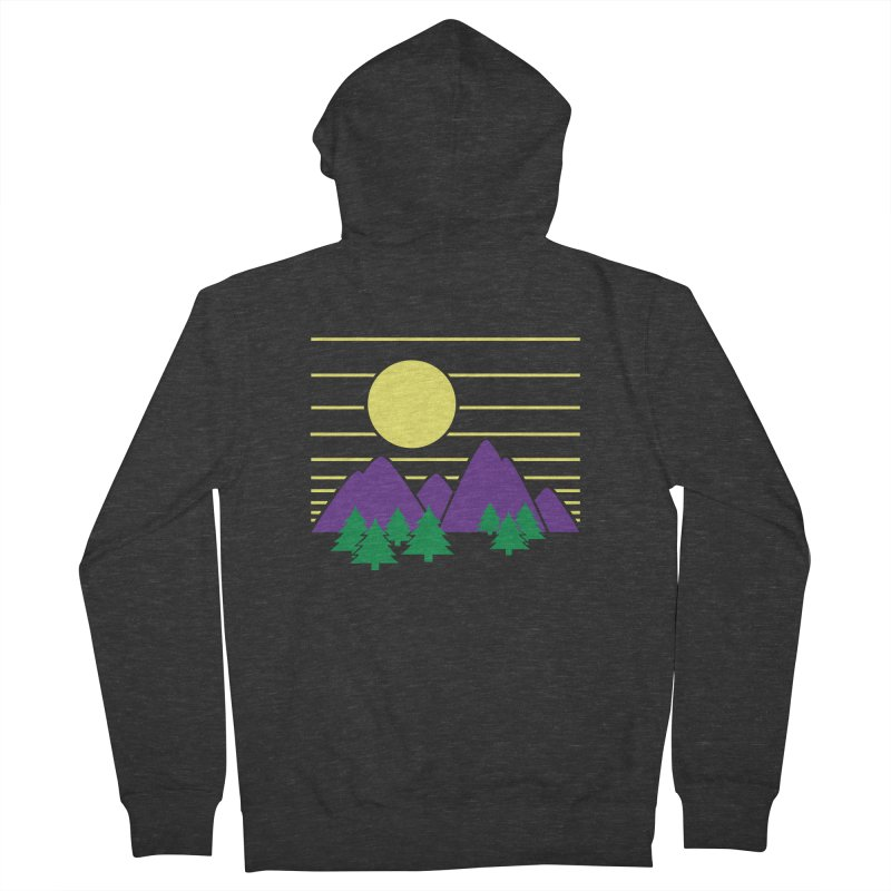 Sunset One Men's Zip-Up Hoody by Michael Mohlman