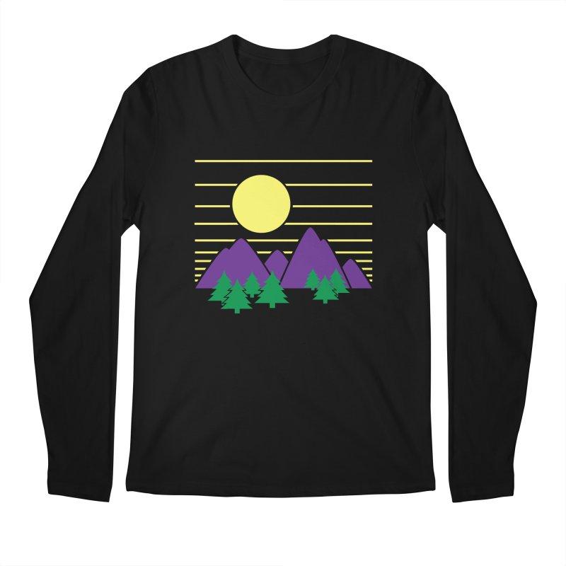 Sunset One Men's Longsleeve T-Shirt by Michael Mohlman