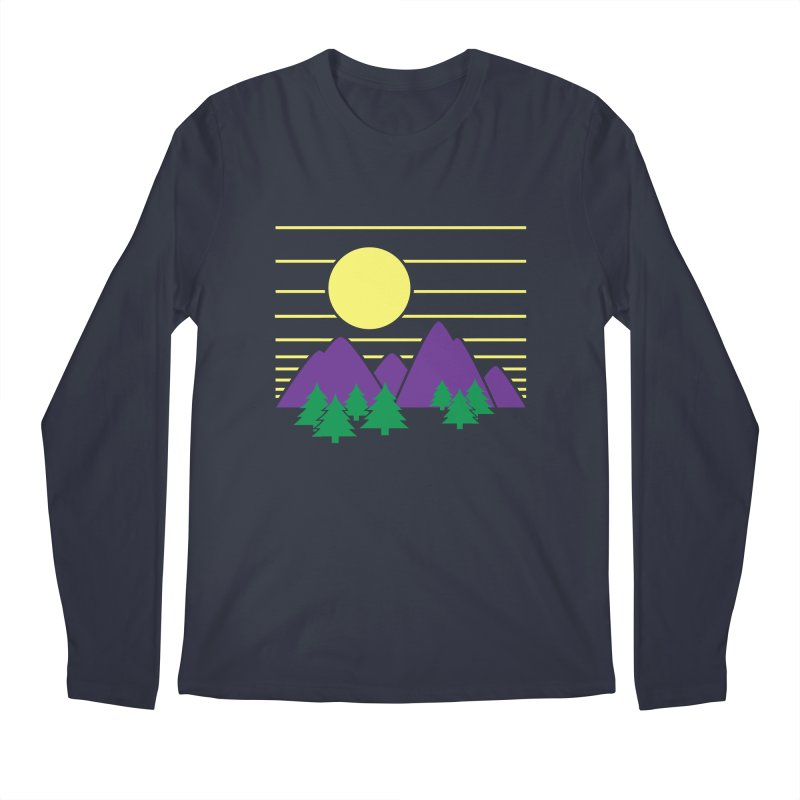 Sunset One Men's Regular Longsleeve T-Shirt by Michael Mohlman